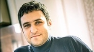Iranian-American chess grandmaster Elshan Moradi is seen in this undated image. Moradi was born in Tehran and moved to the U.S. in 2012, before switching his competitive affiliation from Iran to the U.S. in 2017.