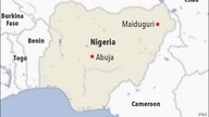 Map of Maiduguri Nigeria