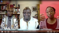 Shaka Ssali, David Onserio Monda and Chipo Dendere on Straight Talk Africa.