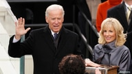 U.S. Vice President Joe Biden takes the oath of office in Washington, Jan. 21, 2013.
