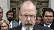 FILE - U.S. Attorney John Durham speaks to reporters on the steps of U.S. District Court in New Haven, Conn.