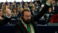 FILE - European lawmaker Jozsef Szajer of Hungary.
