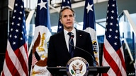 Newly confirmed US Secretary of State Antony Blinken speaks during a welcome ceremony at the State Department in Washington,DC…