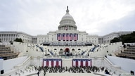 A general view of preparations prior a dress rehearsal for U.S. President-elect Joe Biden's Presidential Inauguration.