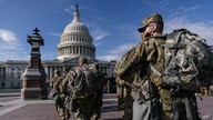 National Guard troops reinforce security around the U.S. Capitol ahead of expected protests.