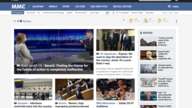 A portion of the home page of the public radio and television broadcaster RTV Slovenia.