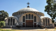The Church of St. Mary of Zion is seen in Axum, in the Tigray region of Ethiopia, Monday, Nov. 4, 2013. As Ethiopia's Tigray…