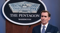 FILE - Pentagon spokesman John Kirby speaks during a media briefing.