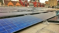 Solar energy is powering the Rockville library in Montgomery County, Maryland. (Courtesy Montgomery County government)