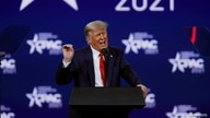 Former U.S. President Donald Trump speaks at the Conservative Political Action Conference (CPAC) in Orlando, Florida, U.S…