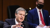 FBI Director Christopher Wray testifies before the Senate Judiciary Committee, on Capitol Hill in Washington, March 2, 2021.