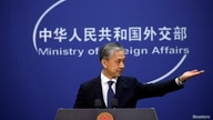 Chinese Foreign Ministry spokesman Wang Wenbin attends a news conference in Beijing, China December 14, 2020. REUTERS/Thomas…