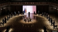 German President Frank-Walter Steinmeier, German Chancellor Angela Merkel and other state leaders attend a memorial ceremony…
