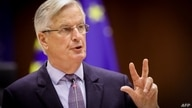 Head of the Task Force for Relations with the UK, Michel Barnier delivers a speech during the debate on EU-UK trade and…