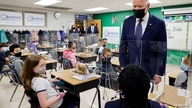 U.S. President Joe Biden visits Yorktown Elementary School in Yorktown, Virginia, U.S. May 3, 2021. REUTERS/Jonathan Ernst