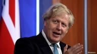 Britain's Prime Minister Boris Johnson speaks at a news conference about the ongoing coronavirus disease (COVID-19) outbreak,…