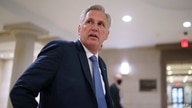 House Minority Leader Kevin McCarthy, R-Calif., and fellow Republicans gather to consider a replacement for Rep. Liz Cheney, R…