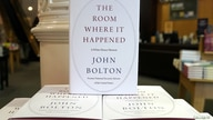 Copies of John Bolton's book 'The Room Where It Happened' are pictured on display at a Barnes and Noble bookstore in the…