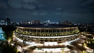 A general view of the National Stadium in preparation for the Tokyo 2020 Olympic Games in Tokyo, Japan June 23, 2021 on the day…