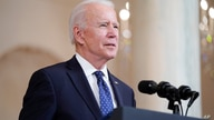 President Joe Biden speaks, April 20, 2021, at the White House in Washington, after former Minneapolis police Officer Derek Chauvin was convicted of murder and manslaughter in the death of George Floyd.