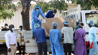 COVID-19 vaccines arrive to be destroyed, in Lilongwe, Malawi, May 19, 2021.