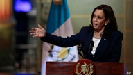 Vice President Kamala Harris speaks during a news conference at the National Palace in Guatemala City, Monday, June 7, 2021. …