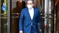 Political deputy at the Ministry of Foreign Affairs of Iran, Abbas Araghchi leaves the 'Grand Hotel Vienna' where closed-door…