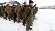 Soldiers are seen during German Minister of Defence Ursula von der Leyen's visit to German troops deployed as part of NATO enhanced Forward Presence (eFP) battle group in Rukla military base, Lithuania, Feb. 4, 2019.