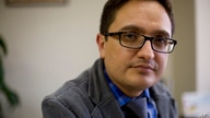 FILE - In this April 3, 2019 file photo, Juan Francisco Sandoval, Guatemala's lead prosecutor against impunity, poses for a…