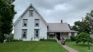A Middle Eastern family at the Anne of Green Gables Museum in Prince Edward Island.  (Jay Heisler/VOA)