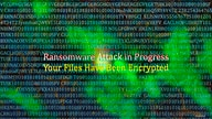 An illustration of a ransomware attack. (Graphics by Diaa Bekheet)