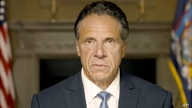In this image taken from video provided by Office of the NY Governor, New York Gov. Andrew Cuomo makes a statement on a pre…