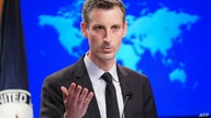 (FILES) In this file photo US State Department Spokesperson Ned Price holds a news briefing at the State Department in…