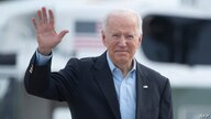 US President Joe Biden boards Air Force One at Andrews Air Force Base before departing for the UK and Europe to attend a series…