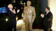 Together with United States Ambassador in Germany Richard Grenell, right, and Fred Ryan Board Chairman of the Reagan Foundation…