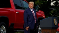 President Donald Trump pauses as he speaks during an event on regulatory reform on the South Lawn of the White House, Thursday,…