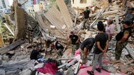 Lebanese soldiers search for survivors after a massive explosion in Beirut, Lebanon, Wednesday, Aug. 5, 2020. The explosion…