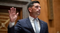 FILE - In this Wednesday, Sept. 23, 2020, file photo, acting Secretary of Homeland Security Chad Wolf is sworn in before the…