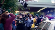 Black Lives Matter protesters march, Friday, Sept. 25, 2020, in Louisville. Breonna Taylor's family demanded Friday that…