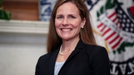Judge Amy Coney Barrett, President Donald Trumps nominee for the U.S. Supreme Court, meets with Sen. Cindy Hyde-Smith, R-Miss.,…