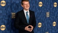 """FILE - In this Wednesday, Jan. 8, 2020, file photo, Ken Jennings, a cast member in the ABC television series """"Jeopardy! The…"""
