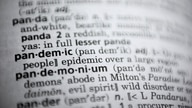In this Saturday, Nov. 21, 2020, photo the word pandemic is displayed in a dictionary in Washington. Merriam-Webster on Monday…