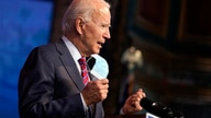 President-elect Joe Biden speaks about jobs at The Queen theater, Friday, Dec. 4, 2020, in Wilmington, Del. (AP Photo/Andrew…