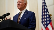 President Joe Biden delivers remarks on the economy in the State Dining Room of the White House, Friday, Jan. 22, 2021, in…