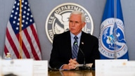 Vice President Mike Pence speaks during a briefing about the upcoming presidential inauguration of President-elect Joe Biden…