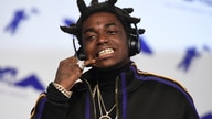 Kodak Black arrives at the MTV Video Music Awards at The Forum on Sunday, Aug. 27, 2017, in Inglewood, Calif. (Photo by Jordan…