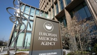 Exterior view of the European Medicines Agency, EMA, in Amsterdam's business district, Netherlands, Tuesday, April 20, 2021…