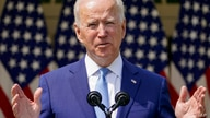 FILE - In this April 8, 2021, file photo President Joe Biden speaks about gun violence prevention in the Rose Garden at the…