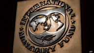 The logo of the International Monetary Fund is visible on their building, Monday, April 5, 2021, in Washington. The IMF and the…