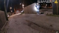 This image from Chicago Police Department body cam video shows the moment before Chicago Police officer Eric Stillman fatally…